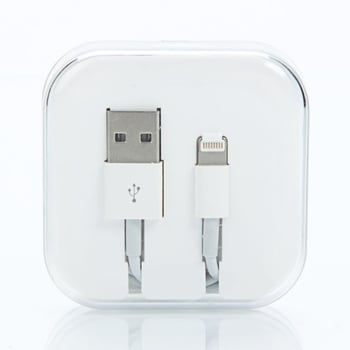 USB Cable iphone Crystal Box (36pcs in a box)