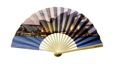 Hand Fan Opera Sunset HF1045
