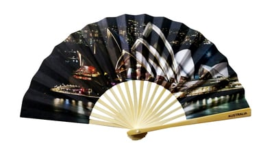 Hand Fan Opera Night HF1035