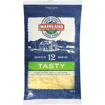 Mainland Cheese Grated Tasty 200g (12 a box)156220