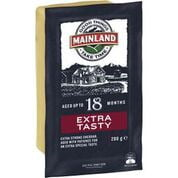 Mainland Extra Tasty Cheese Block 250g (12 a box)925080
